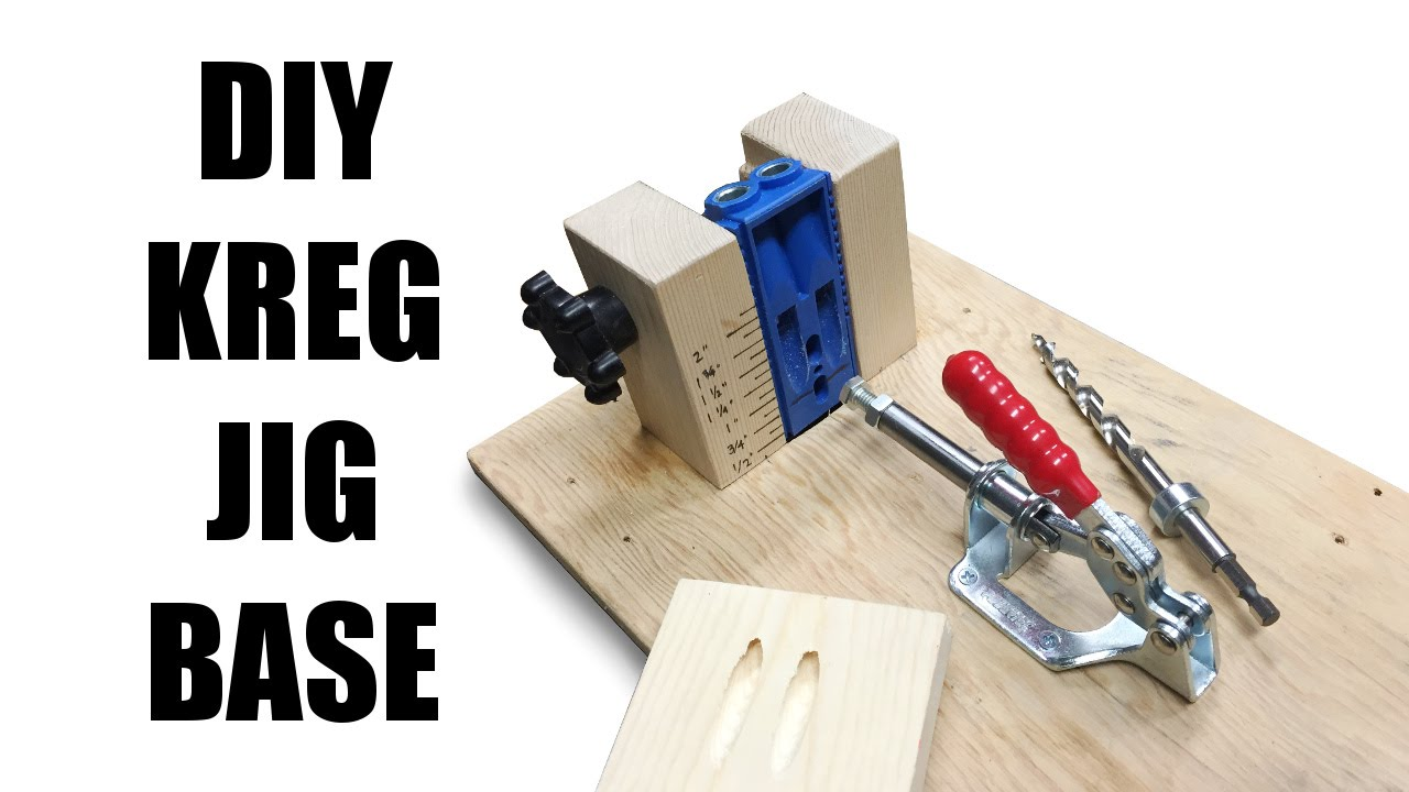Diy kreg jig base youtube solutioingenieria Image collections