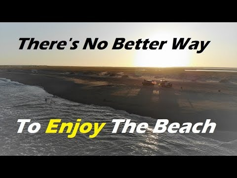 Fort Fisher - Four Wheel Beach Driving In NC