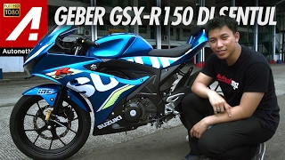Motor 150cc Fairing Terkencang! - Review Suzuki GSX-R 150 test ride by AutonetMagz