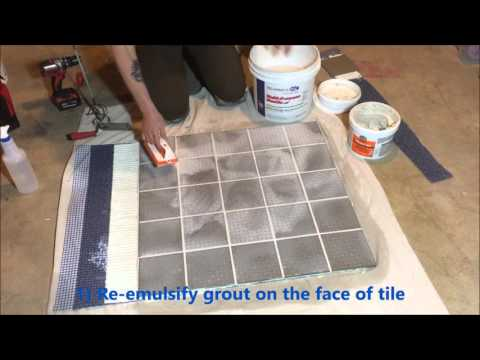 ARDEX WA Epoxy Grout and Adhesive 2: Cleanup Tips and Tricks
