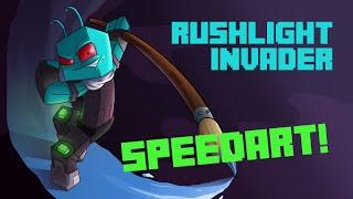 Minecraft Speedart: RushLight Invader