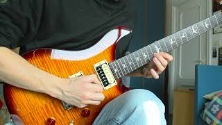 Steven Wilson - The Pin Drop (Guthrie Govan solo cover)