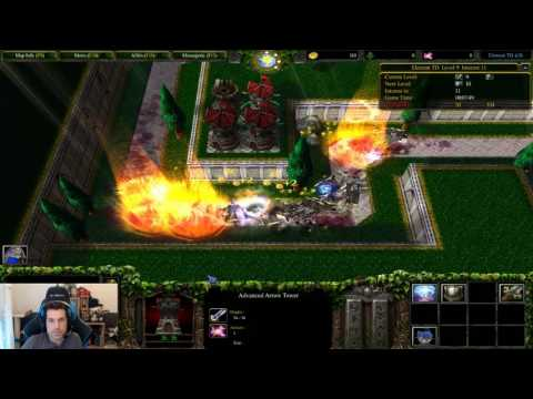 Warcraft 3 - Tower defense - Element TD4