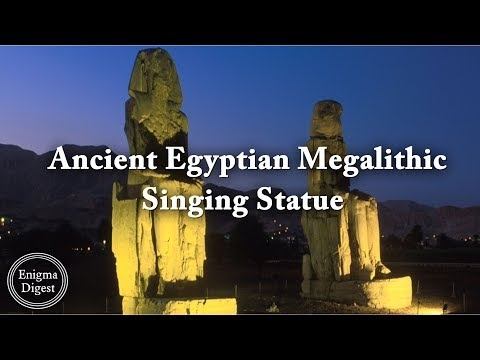 Ancient Egyptian Singing Statue | Colossi Of Memnon ✔️
