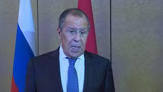 С.Лавров по итогам СМИД ОДКБ в Алма-Ате