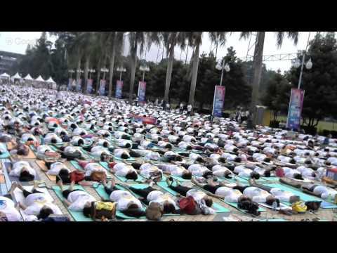 Intetnational Yoga Day Jakarta