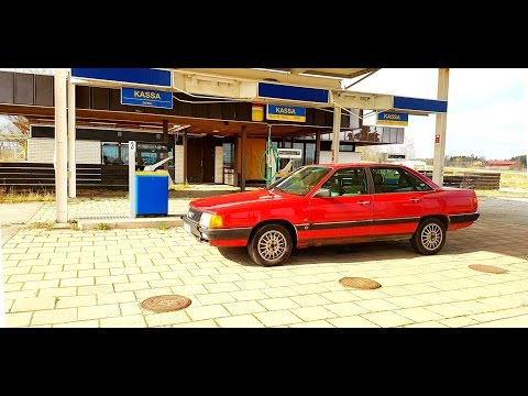 Audi 100 turbo quattro 2.2t 20v 500 hp sleeper amazing sound acceleration 2