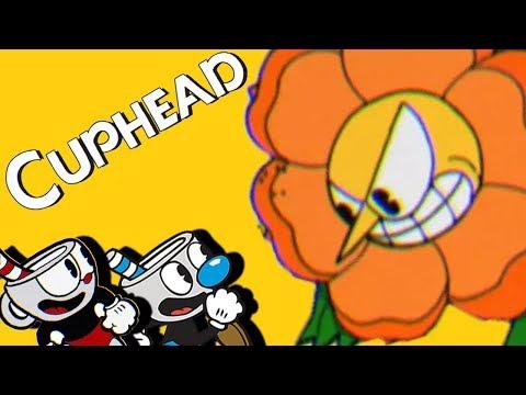 Co-Op Gardening - Cuphead Gameplay