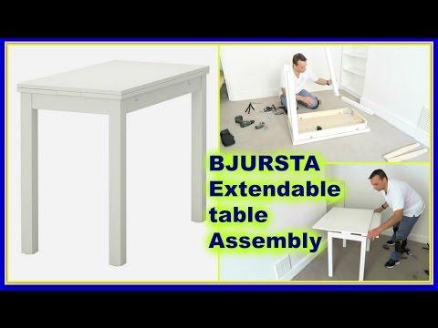 IKEA BJURSTA Extendable table