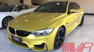2015 BMW M4 Coupé (F82); Exterior e Interior