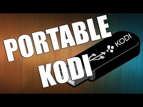 How to Install KODI Krypton on a USB Flash Drive   Portable KODI 17.1