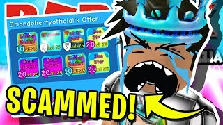 I *SCAMMED* THE BIGGEST *SCAMMER* IN ROBLOX BUBBLEGUM SIMULATOR!! ((All His Secret Pets) [UPDATE 27]