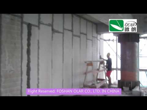 Foshan Olar Fiber Cement EPS Sandwich panel wall *2