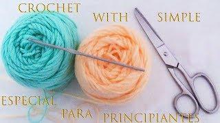 Crochet especial para principiantes tejido tallermanualperu