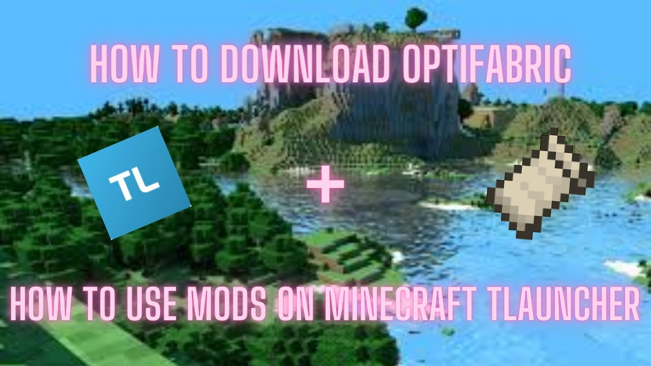 How to download optifabric + how to use mods/fabric mods on