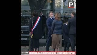 Marseille : Emmanuel Macron est arrivé au congrès national des sapeurs-pompiers