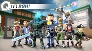 Q-CLASH!!! (eigenlijk gewoon overwatch en roblox)