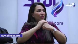 بالفيديو والصور.. إيمان عز الدين: لم أتلق توجيهات من أي جهة سيادية