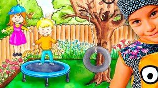 СМЕШНОЕ ВИДЕО ДЛЯ ДЕТЕЙ Новый игровой мультик ДОМ детская игра My PlayHome