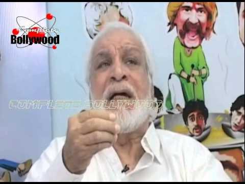 Intervew of Kader Khan for the film 'Hogaya Dimaagh Ka Dahi'