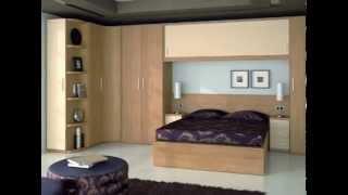 Gambar cover Dormitorios clasicos y modernos modulares tipo puente con armarios esquineros