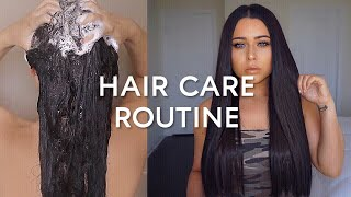 MY HAIR CARE ROUTINE 2018