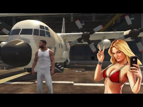 GTA 5: How To Steal A Titan (C-130) From Fort Zancudo Military Base