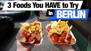 German Food - 3 Dishes To Try In Berlin, Germany (Americans Try German Food)