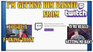 Tfue Gets Stream Sniping Kid BANNED From Twitch & Fortnite!