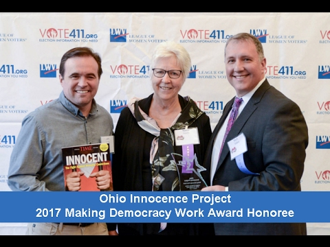 Ohio Innocence Projects receives the 2017 Making Democracy Work Award