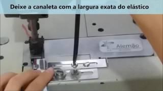 Aparelho para Rebater elástico na galoneira/elastiqueira (para elásticos de até 4cm)