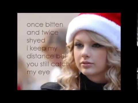Taylor Swift Lyrics Last Christmas and Charlie Bit Me