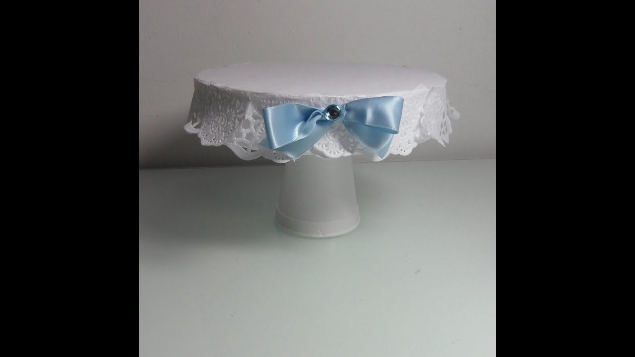 Bonita bandeja para una mesa dulce de cumplea os o bautizo - Hacer mesa dulce bautizo ...