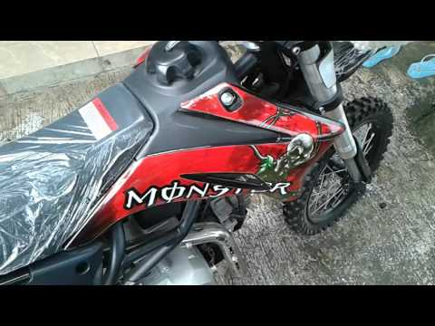 Mini trail 125 cc 4tak kompetisi