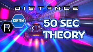 50 SECOND THEORY - Distance - PC Racing Game / Gameplay / Custom User Map Track