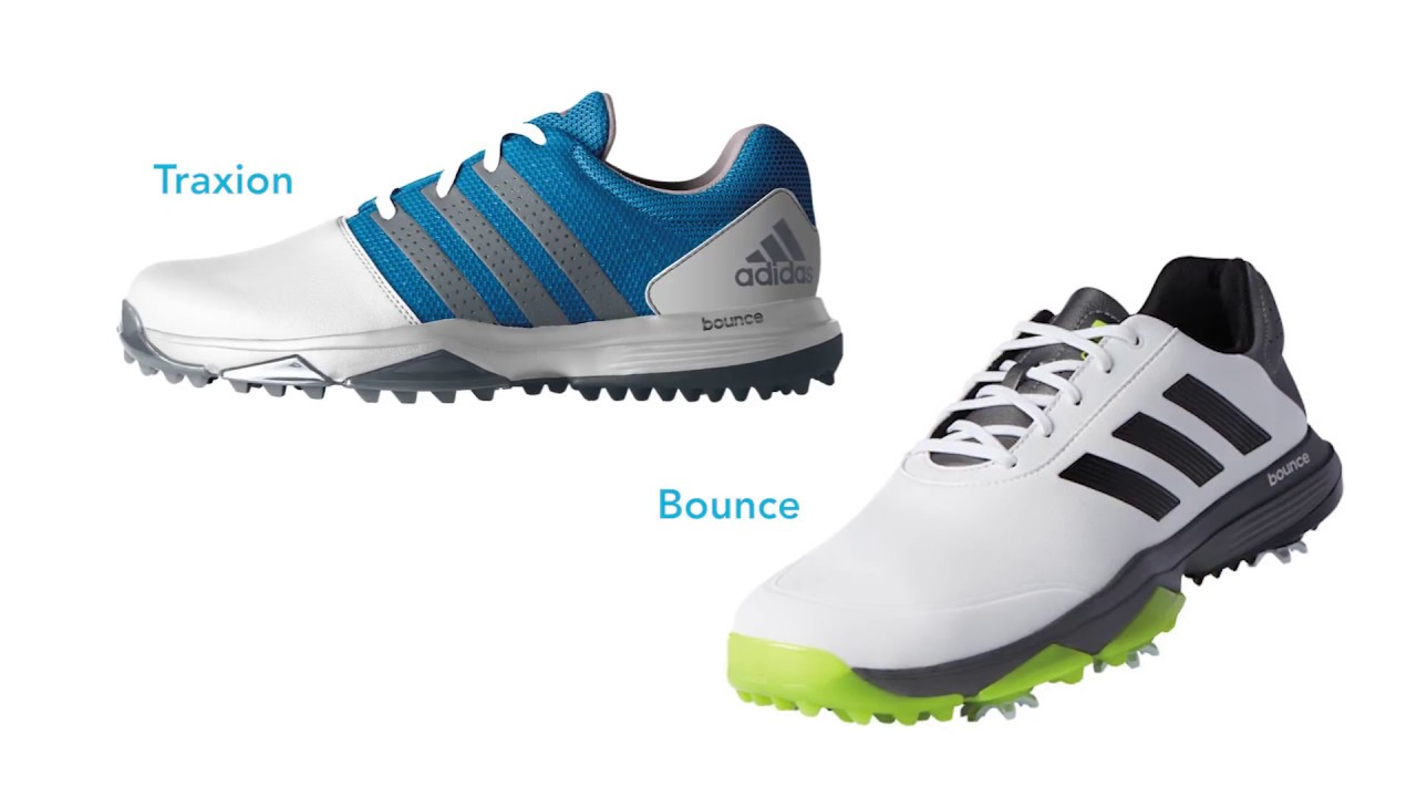 1d40869df11 adidas Adipower Bounce and 360 Traxion Golf Shoes at the 2017 PGA Show