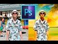 "Photoshop: SPEED & QUICK CREATE ART ""Cartoon easy effect"" HD 2016"