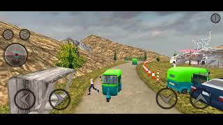 Mountain Auto Tuk Tuk Rickshaw : New Games 2020 New Game Play screenshot 1