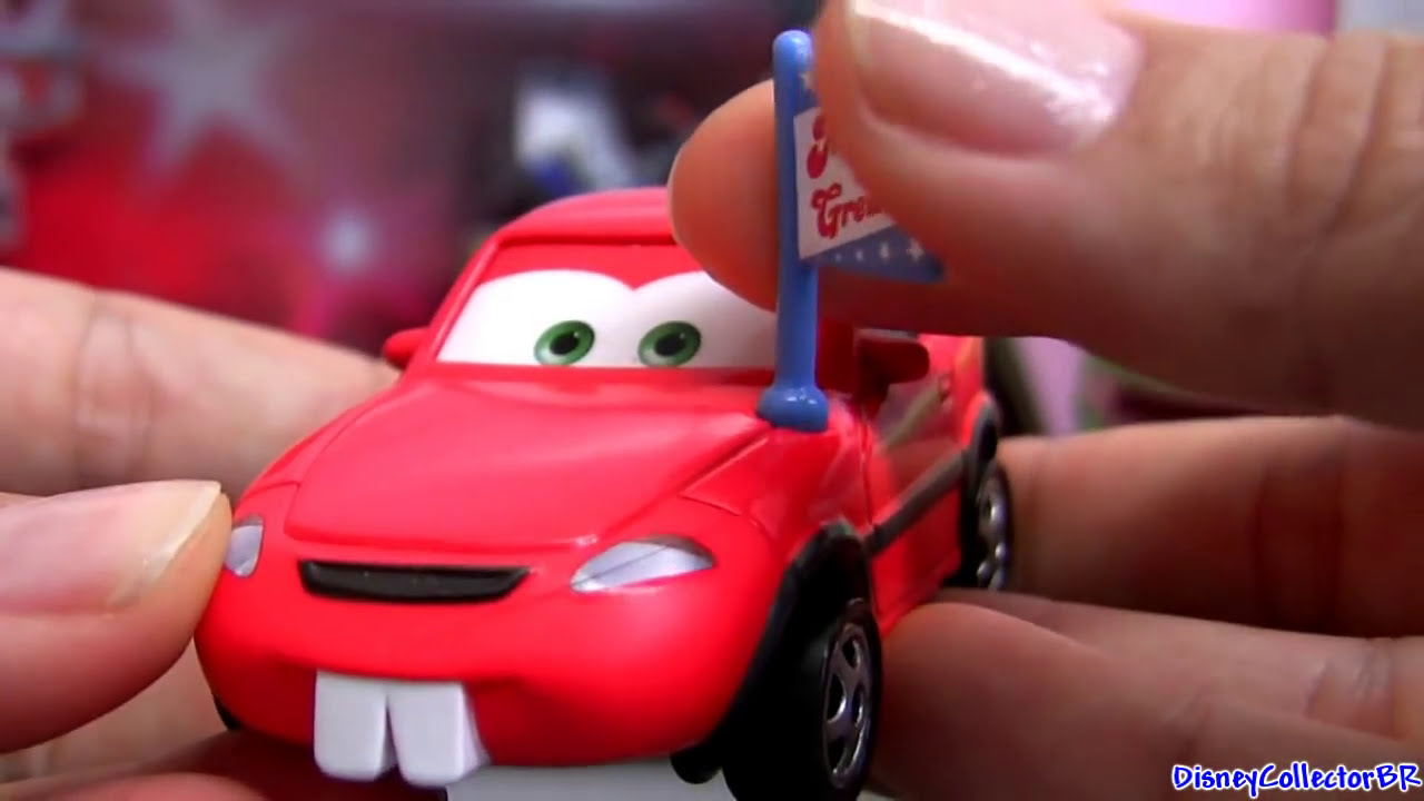 Rocket Mater 4-pack Diecast With Big Fan Cars Toon Mater