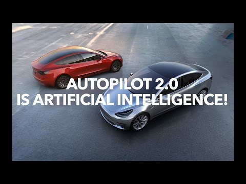 Autopilot 2.0 is artificial intelligence and Tesla HUD!  | Model 3 Owners Club
