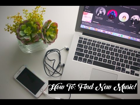 How To Find New Music! // MY TOP 5 TIPS