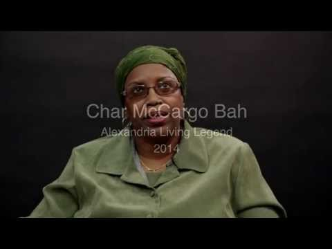 2014 Living Legend of Alexandria Char McCargo Bah
