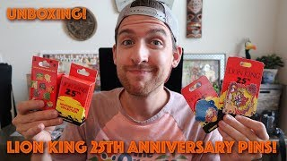 LION KING 25TH ANNIVERSARY | Pin Haul & Unboxing!
