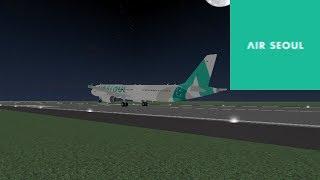 ECONOMY | Air Seoul - Airbus 321 | ROBLOX