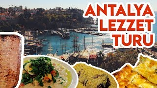 You Will Be Surprised With Foods in Antalya | 3 Days Chasing Food of Antalya