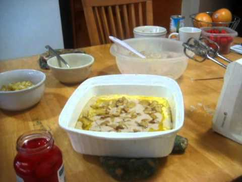 AMAZING PINEAPPLE COBBLER RECIPE VIDEO A MUST SEE