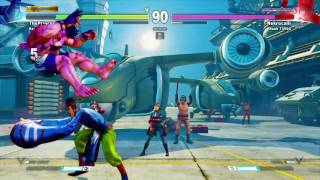 STREET FIGHTER V Alex vPrincess Slim (Fang) R1 thumbnail
