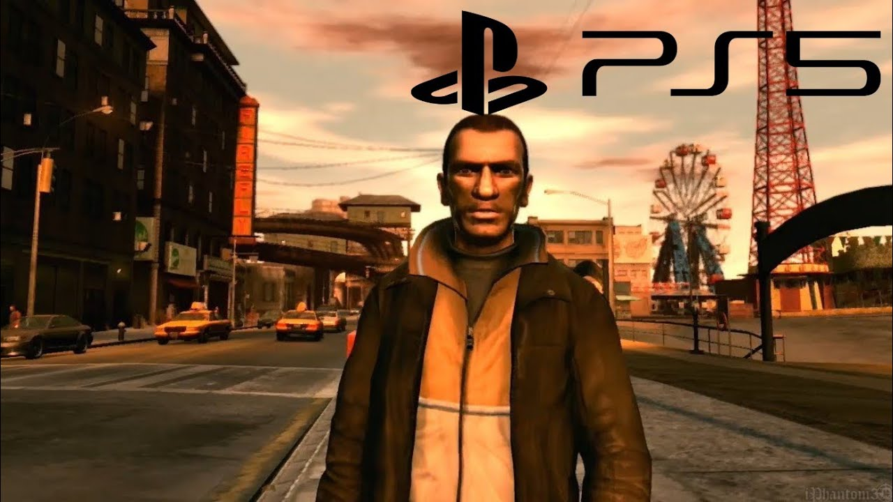 Grand Theft Auto IV PS5 first gameplay - YouTube