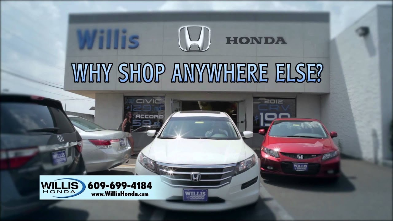 Willis Honda | We Have The Best Prices Or That Car Is YOURS! | Burlington,  NJ | Honda Dealer NJ