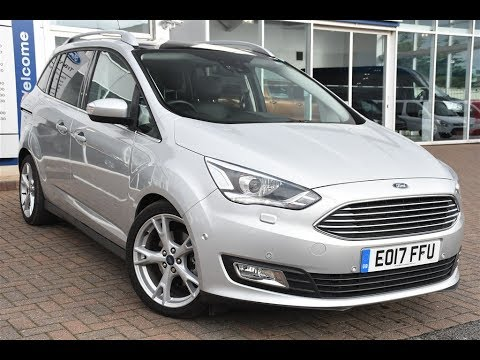 used ford grand c max 1 5 tdci titanium x 5dr powershift. Black Bedroom Furniture Sets. Home Design Ideas